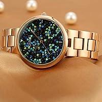 レディース腕時計 クォーツ ラインストーン ダイヤモンド ファッション ギフト プレスレット付 防水 日本MIYOTAムーブメント (ホワイト)