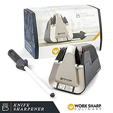 Work Sharp Culinary E5 Electric Kitchen Knife Sharpener