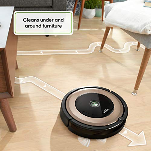 iRobot Roomba 891 Robot Vacuum- Wi-Fi Connected, Works with Alexa, Ideal for Pet Hair, Carpets, Hard...