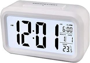 Relógio De Mesa De Cabeceira Crianças Inteligente Nightlight Mesa Relógio Eletrônico Grande Tela Relógio Digital