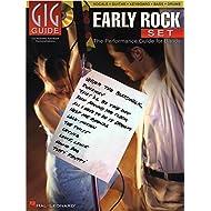 Hal Leonard Gig Guide: Early Rock Set. Partituras, CD para Guitarra, Acorde de Guitarra, Guitarra Bajo, Batería, Voz, Teclado
