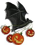 """BeyondVision Individuelle und einzigartige glücklich halloween stickte Eisen nähen Patches 8 x6"""" rot, grün, weiß -"""