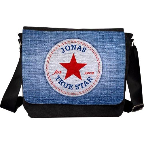 Herz und Heim® Umhängetasche Motiv - True Star - Name: Jonas
