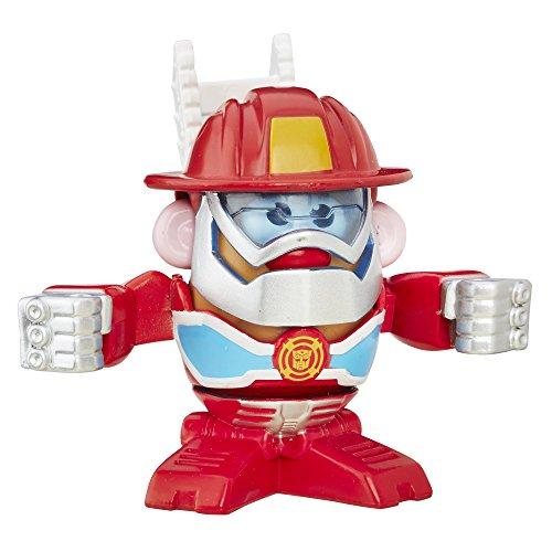 Playskool Figura de Acción Señor Cara de Papa, Héroes Transformers, Heatwave