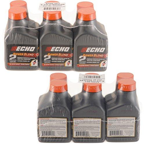 Echo 6450001 Power Blend 1 Gallon Oil Mix (50:1) 12 Pack