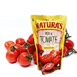 Tomato Paste - Natura's Pasta De Tomate Concentrada|100% Plant Based | Ready To Use| Made With Only With Fresh Tomatoes |No Preservative, No Artificial Colors| (227g, 8oz) Single