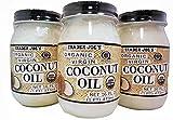 Trader Joe's Organic Virgin Coconut Oil 16 FL OZ (Case of 3)