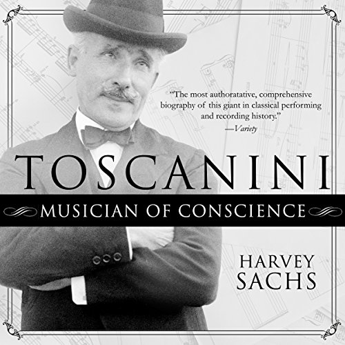 Toscanini audiobook cover art