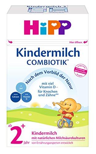 HiPP Kindermilch ComBiotik, ab 2+ Jahr, 4er Pack (4 x 600 g)