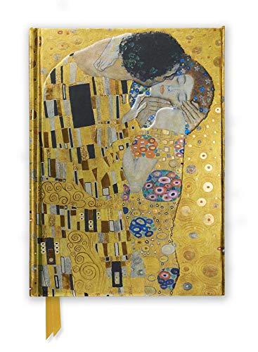 Premium Notizbuch DIN A5: Gustav Klimt, Der Kuss: Unser hochwertiges, liniertes Blankbook mit festem, künstlerisch geprägtem Einband und ... DIN A 5 mit Magnetverschluss, Band 3)
