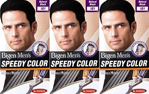 Bigen Speedy Herren Haarfarbe 101 Naturschwarz (6 Stück)