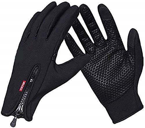 COTOP Touchscreen Handschuhe Winter Winddicht Warme Handschuhe für Radfahren Laufen Klettern Trainingshandschuhe für Outdoor Sports Fitness Ski für Herbst und Frühwinter(XL)