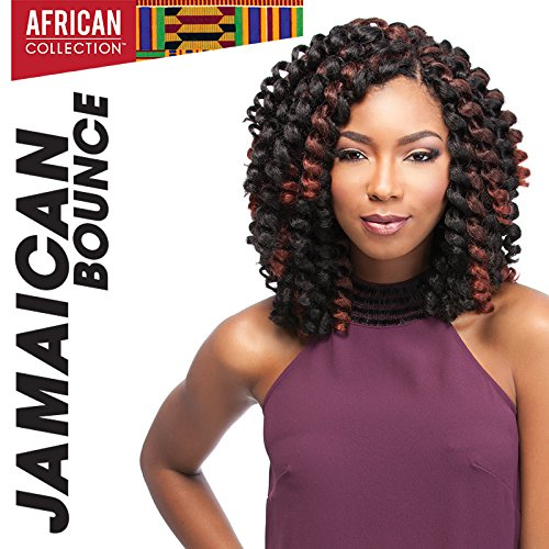 4 Packs Deal!!! JAMAICAN BOUNCE 26 (2 Dark Brown) - Sensationnel African Collection Crochet Braid by Sensationnel