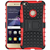 Huawei P8 Lite 2017 Case,ALDHOFA Shock Absorption TPU