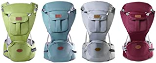 Child & Baby Carrier,Waist Stool,Adjustable Comfortable Baby Carrier, Fits All Newborn Toddler And Hiking Shopping Travell...