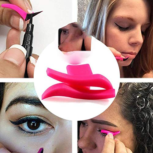Eyeliner Template Stencil Models Maquillage professionnel Nouvel Aile Style Chaton Grande Taille Ailes de Chat Eye Timbre Eyeliner, Classique