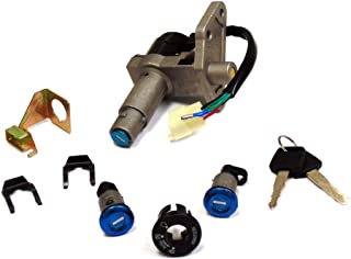 Ignition Key Set Complete with Ignition Switch and Locks for 150cc 4 Stroke Engines (4108)