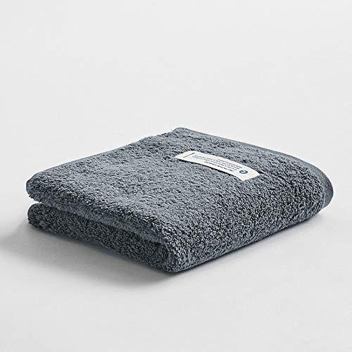 CMZ Toalla de algodón Simple de Color Puro Pareja Adulta Toalla de Cara Simple de Lavado Toalla de algodón Suave Absorbente (34x74 cm)