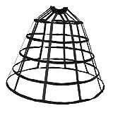 MagiDeal Vintage A-line Reifrock Petticoat Brautkleid Unterrock Unterskirt Krinoline für...