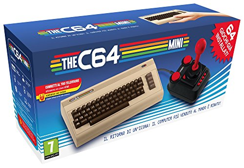 Commodore 64 Mini (64 Giochi Inclusi)