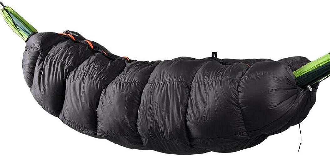 HXZF Perfeclan Winter Hammock Sac de Couchage Ultra-léger et Chaud sous Couverture,Style 2 noir