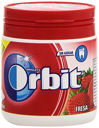Orbit Bote Chicle sin Azúcar, Fresa, Pack de 60 Unidades