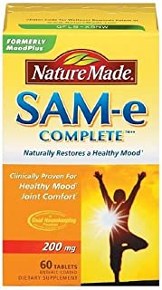 Nature Made SAM-e Complete, 200mg, Tablets 60 ea by AB