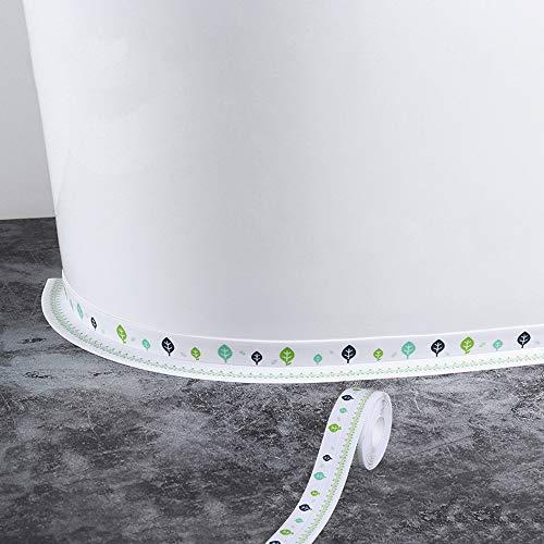 Waterproof Tape Cute Tree Self Adhesive Sealing Caulk Strip Tape for Bathtub Kitchen Sink Toilet Wall Edge Protect (3.8cm320cm) (Cactus)