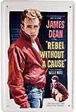 Blechschilder James Dean Rebel Without a Cause Bekannte