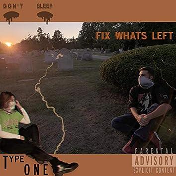 Fix What's Left.