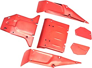 Flameer 1:12 Scale 4WD RC Desert Truck Body Shell Spare Parts for FY03 JJRC Q39 Red