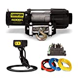 Champion 4000-lb. ATV/UTV Winch Kit with Mini-Rocker...