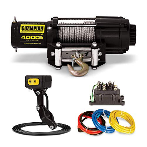 Champion UTV Winch Kit with Mini-Rocker
