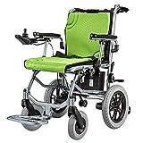 Silla de ruedas XT-LY Antigua Scooter eléctrico Ajustable Rueda antivuelco + Joystick Inteligente para discapacitados Silla médica Plegable Ligera