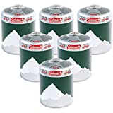 Coleman Extra Value 6 x C500 <span class='highlight'>Gas</span> Cartridge (Pack of 6) - Green