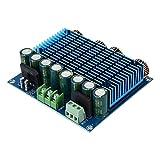 Placa amplificadora de potencia digital, 2x420W Placa amplificadora de potencia ultra alta de 2 canales Admite fuentes de alimentación CA y CC con una amplia gama de 15-32V