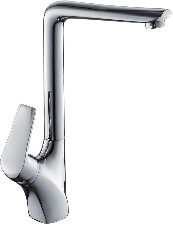ZHUAPP Küchenarmatur Mischen Heien Und Kalten Küchenarmatur Waschbecken Wasserhahn Sitzen Einhand-Wasserhahn Kupferkrper Wasserhahn