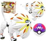XINHANG Caja ciega Anime Pokemon Pikachu Dragón Que escupe Fuego Pokémon Figura de Juguete de Pokémon Caja ciega Figura de Bola de Elfo