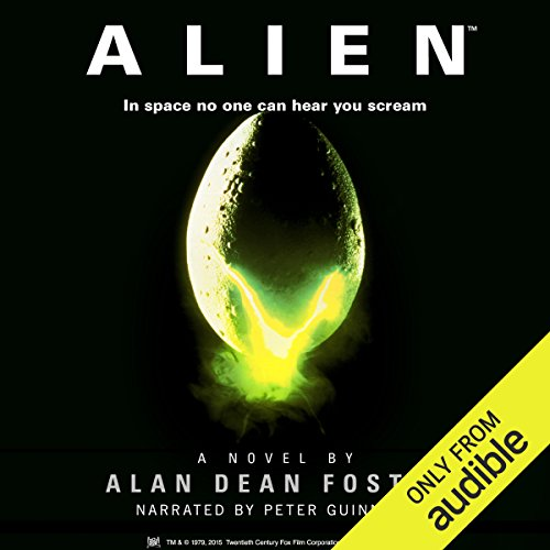 Alien audiobook cover art