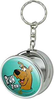 GRAPHICS & MORE Scooby-Doo Ruh Roh Portable Travel Size Pocket Purse Ashtray Keychain with Cigarette Holder