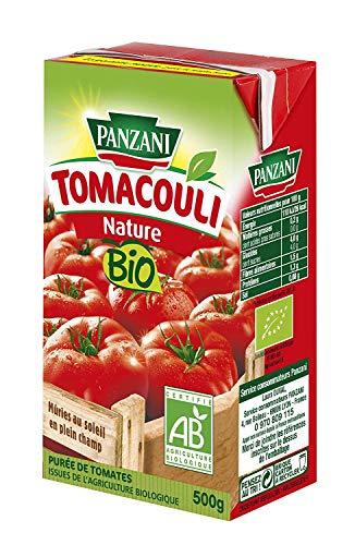 Panzani Brique Coulis De Tomates Nature Bio Tomacouli 500 g