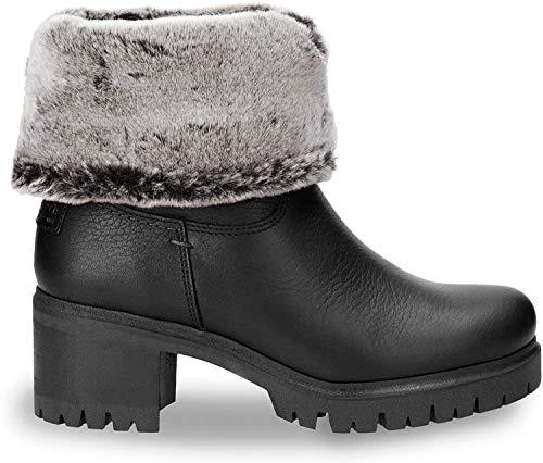 Panama Jack PIOLA B23 - Damen Schuhe Stiefeletten Stiefel - Nappa-Grass-Negro, Größe:38 EU