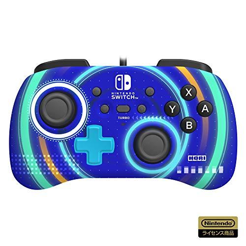 【任天堂ライセンス商品】ホリパッドミニ for Nintendo Switch サイクロンブルー【Nintendo Switch対応】