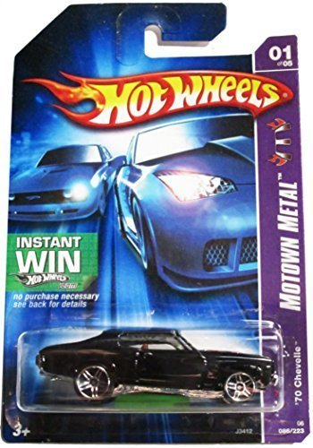 Hot Wheels Collectible Diecast Car:Motown Metal '70 Chevelle 86/223 1 of 5 Instant Win by Hot Wheels