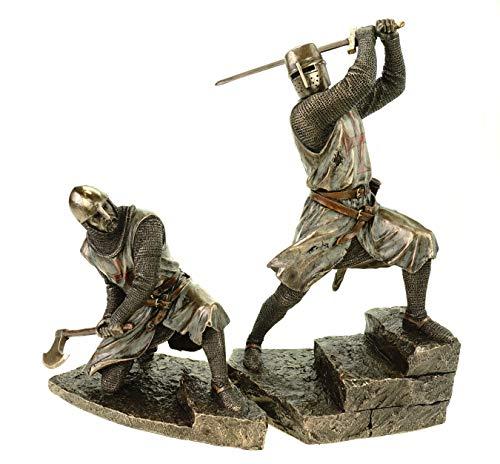 VERONESE 708-7519 + 708-7520 - Figura de caballero medieval