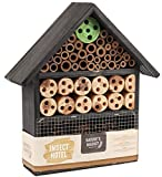 Natures Market Kingfisher Insect Hotel, Transparent, 9 x 25.5 x 32.5 cm