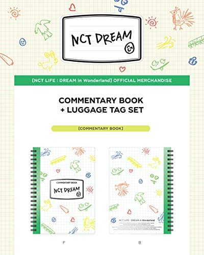 NCT Dream NCT Life Dream in Wonderland Commentary Book Luggage Tag Set Extra Photocards Set product image