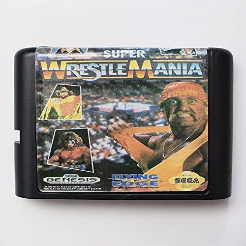 Spire WWF Super Wrestle Mania 16 bit MD Game Card For Sega Mega Drive For Genesis