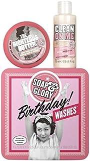 石鹸&栄光?の誕生日の洗浄液?ギフトセット (Soap & Glory) (x2) - Soap & Glory? BIRTHDAY WASHES? Gift Set (Pack of 2) [並行輸入品]