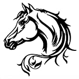 20 * 20 cm pegatina reflectante para coche caballo hermoso patrón...